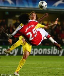 Arsenal vs Villareal