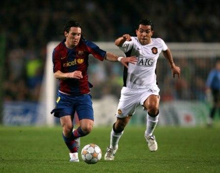 Man Utd v Barca